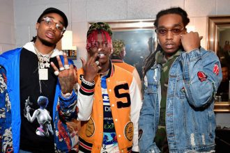 Watch Migos and Lil Yachty Praying Before Going On Stage