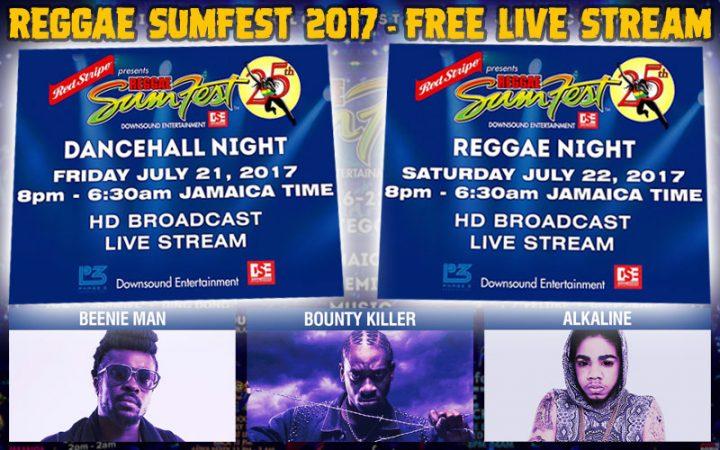Live Stream Reggae Sumfest 2017 Here In HD