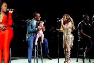 Watch Tiny Sings For T.I. and Heiress At Xscape Concert