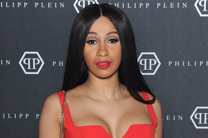 Cardi B Unveils Her Entire Back Tattoo With Bright Pink: Cardi B Tweet From A Year Ago Come Back To Haunt Her