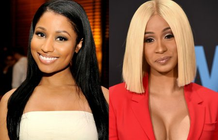 "Nicki Minaj Says ""No Flag"" Verse Not A Cardi B Diss Twitter Thinks Otherwise"
