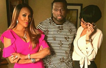 50 Cent and His Ex Vivica A. Fox Together Again On 50 Central