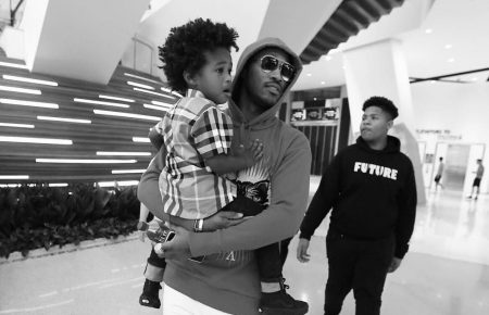 Future Takes All Of His Kids To Disneyland Has A Message For Haters