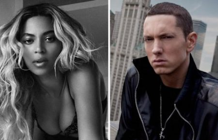 """Eminem Taps Beyonce For New Song """"Walk On Water"""""""