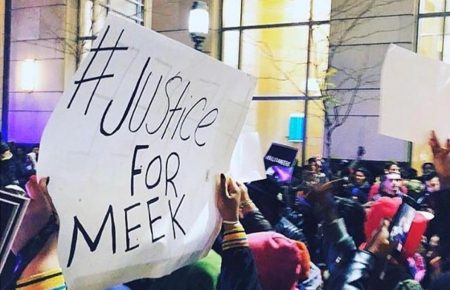 Fans Poured Out For Free Meek Mill Rally In Philly [VIDEO]