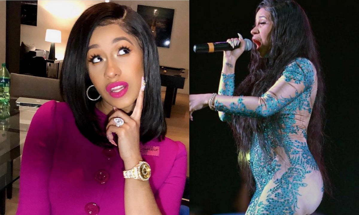 Image result for is cardi b pregnant