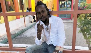 Popcaan Finally Goes To Church Totally Stoned