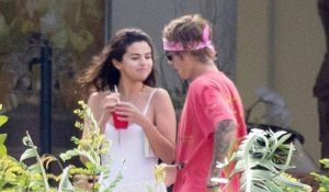 Justin Bieber & Selena Gomez In Montego Bay, Jamaica For Dads Wedding