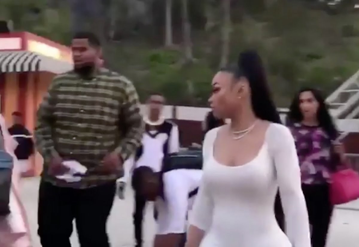 Blac Chyna gets into a fight at an amusement park