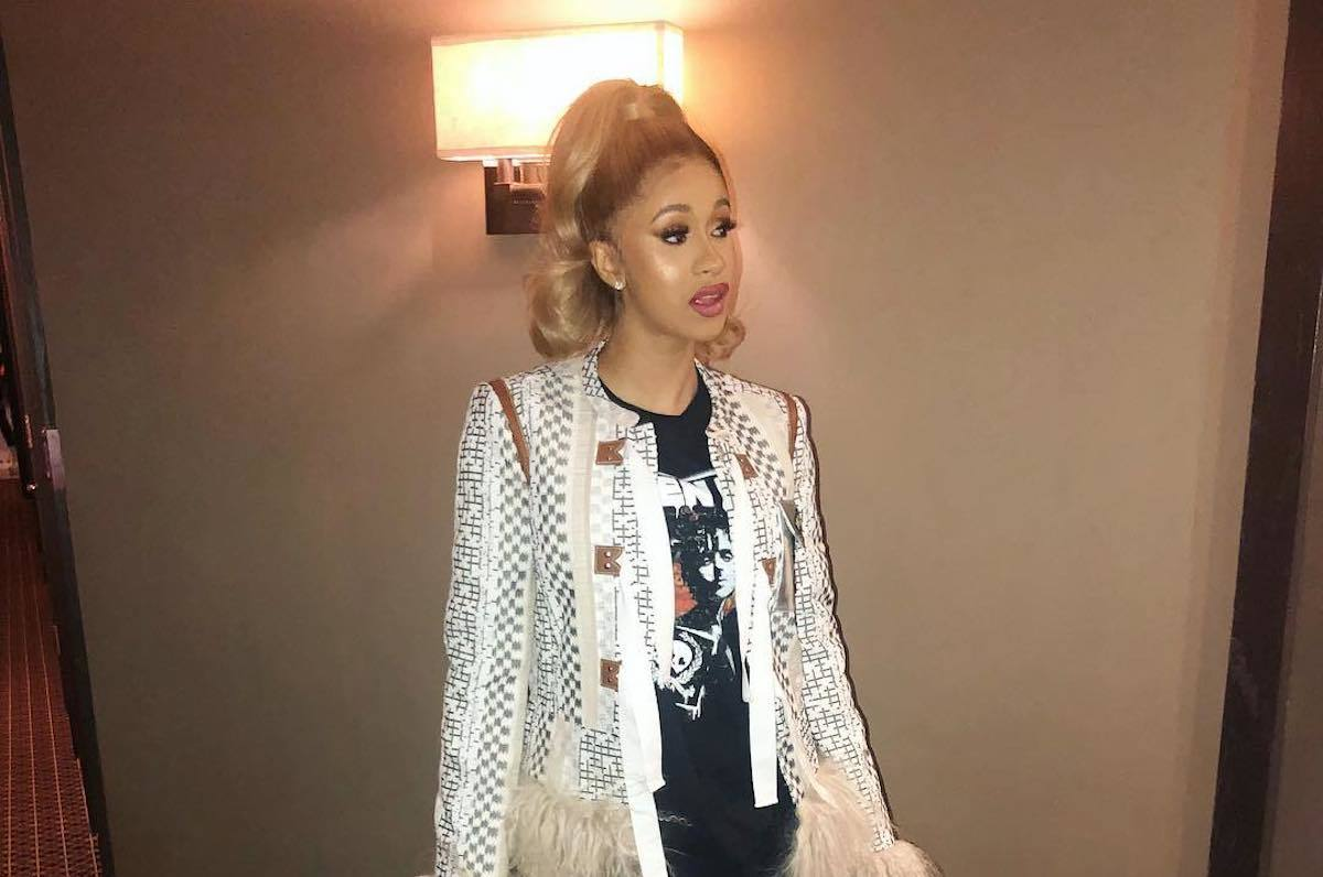 Cardi B Pregnant: Cardi B Hints She Is Pregnant With Twins On Her Album