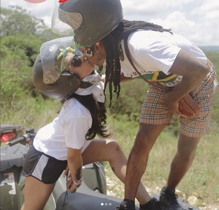 Rapper Jacquees And His Girlfriend Vacation In Jamaica