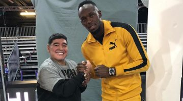 Usain Bolt Introduced Maradona To Vybz Kartel Music