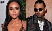 Chris Brown and Karrueche