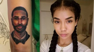 Did Jhene Aiko Dumped Big Sean and Cover Up His Tattoo?