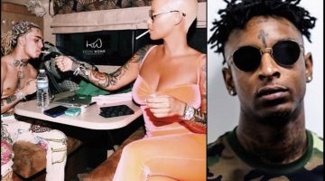 Is Amber Rose Dating Lil Pump The Reason 21 Savage Dumped Her ?