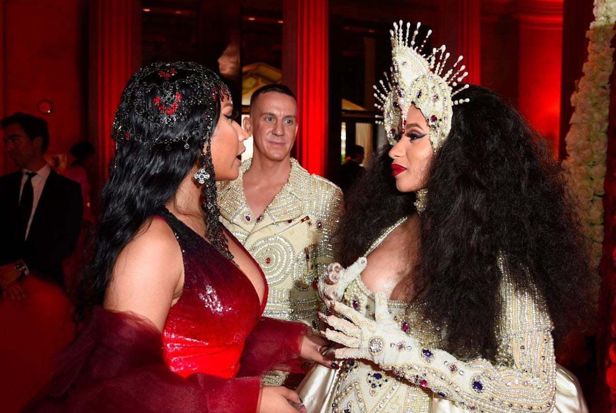 Nicki Minaj met Cardi B