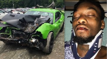 Offset Says He Almost Died In Car Crash Shares Photos