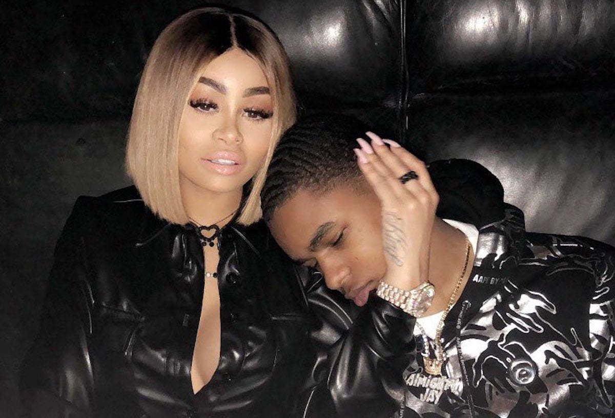 Blac Chyna and YBN Almighty Jay