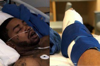 Lil Scrappy crash hospitalize