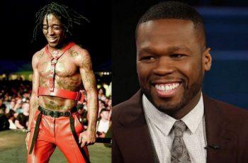 Lil Uzi Vert and 50 Cent