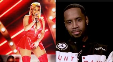 Safaree Was Enjoying Nicki Minaj Performance At BET Awards Too Much