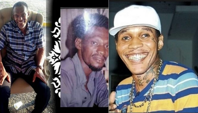Vybz Kartel and his father