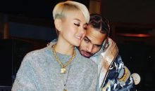Chris Brown and Agnez Mo