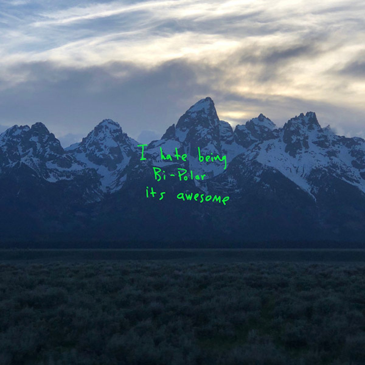 Kanye West Ye album