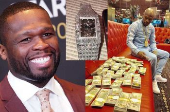 50 Cent Floyd Mayweather beef