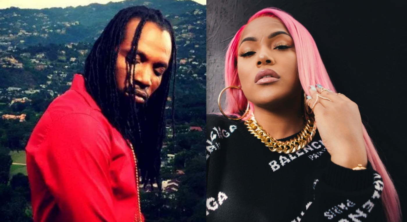 Mavado and Stefflon Don