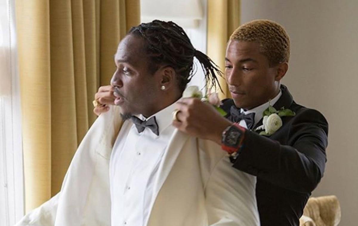 Pusha T wedding Pharrell Williams