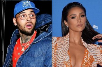 Chris Brown and Shay Mitchell