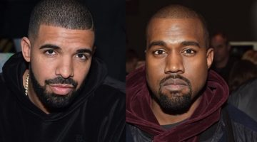 "Drake Laughs At Kanye West For Lying About Phone Call ""Never Happen"""