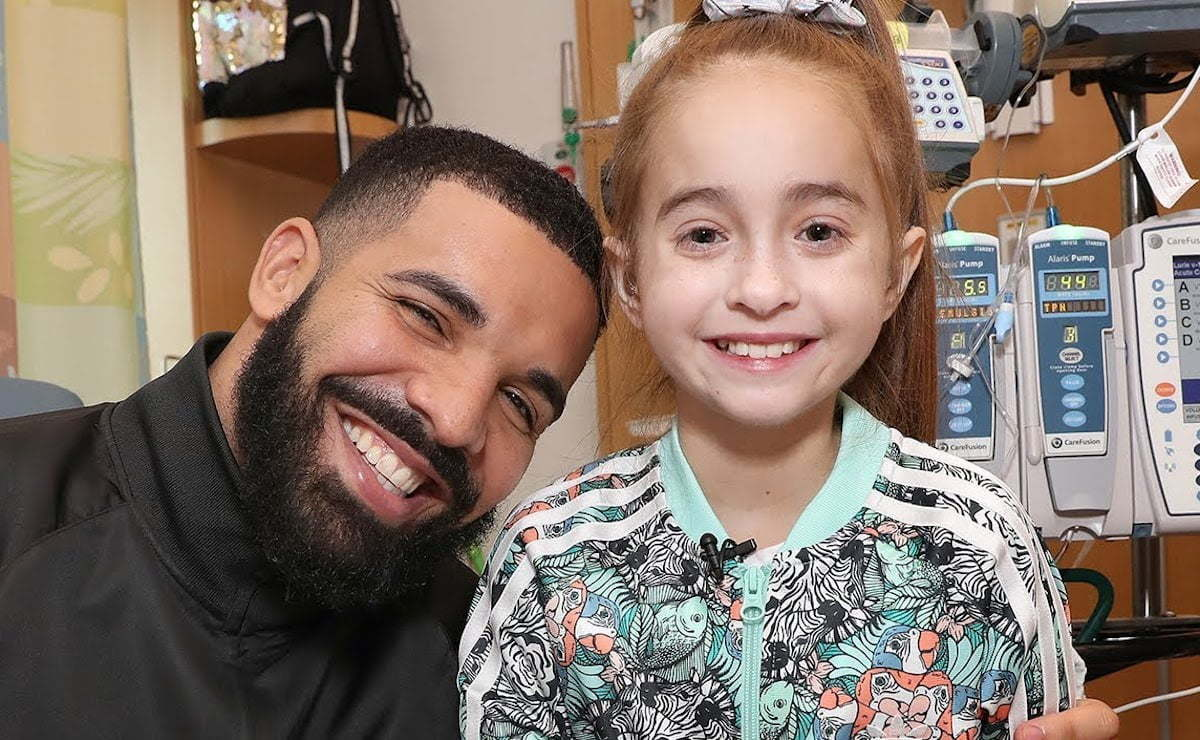 Drake and Sofia Sanchez