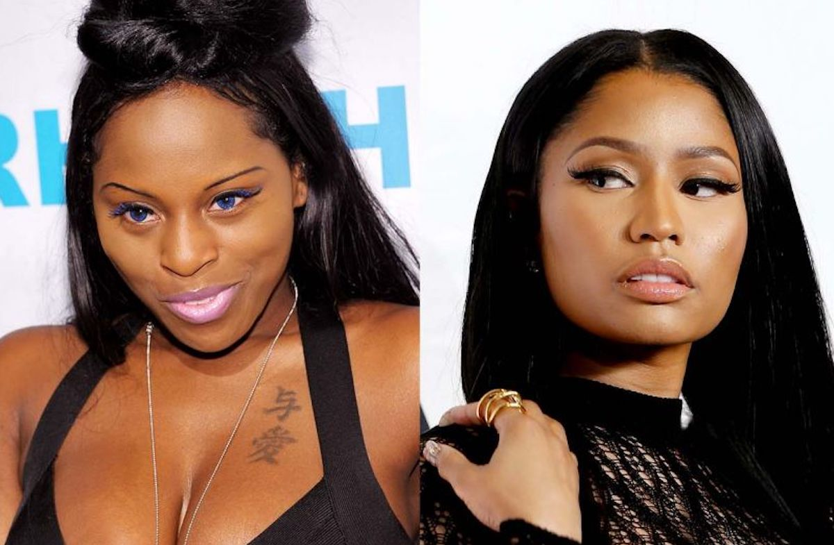 Foxy Brown and Nicki Minaj