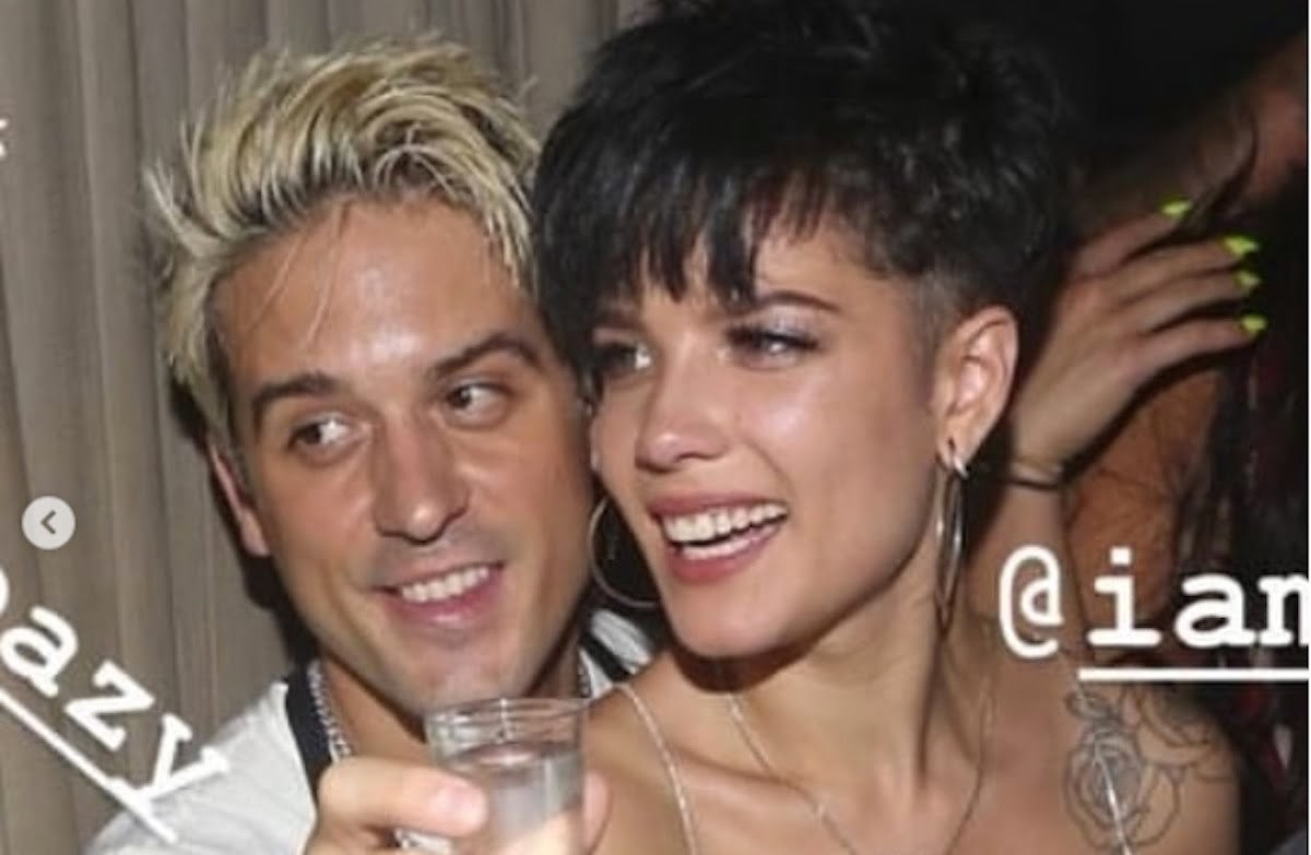 G Eazy Halsey Reunited At Travis Scotts Vmas After Party In Nyc