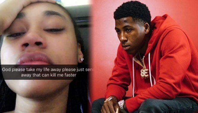 NBA YoungBoy and Jania