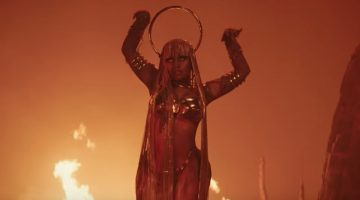 "Nicki Minaj Is A Powerful Egyptian Queen In ""Ganja Burn"" Video"