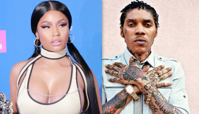 Nicki Minaj and Vybz Kartel
