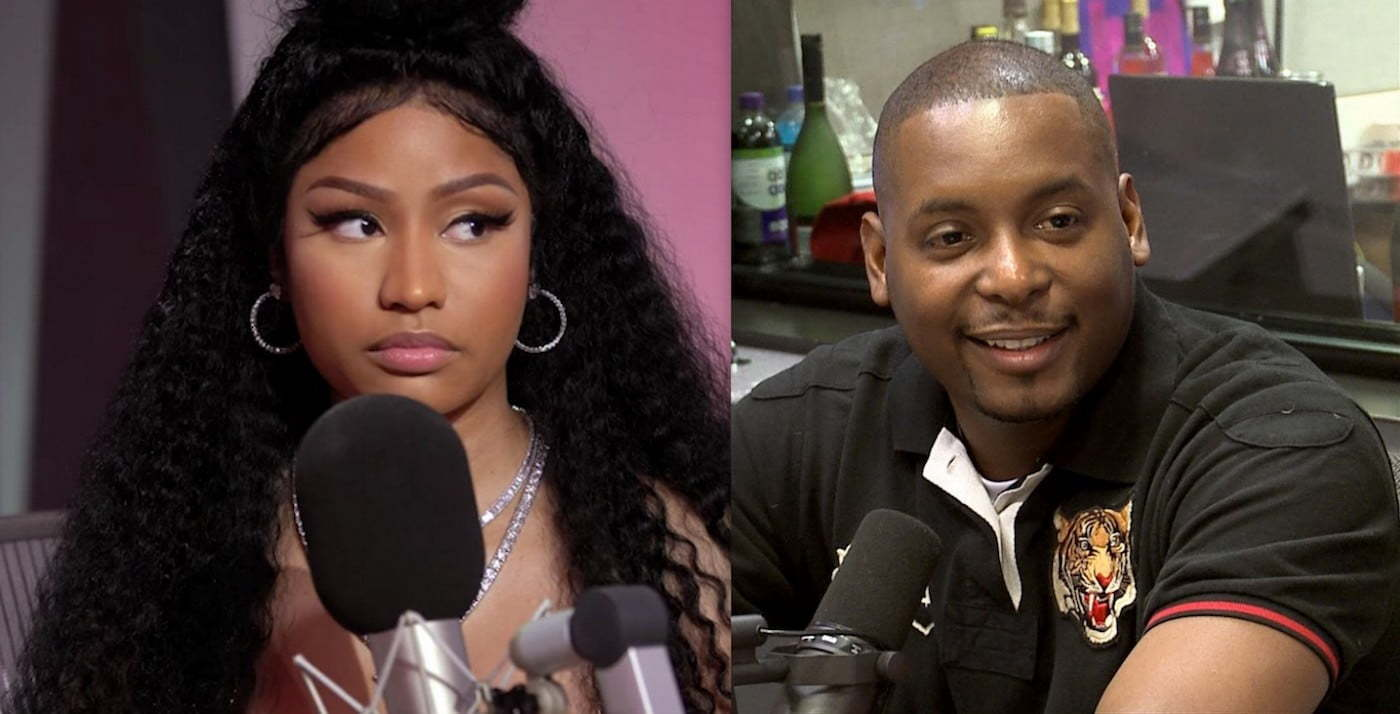 Nicki Minaj and DJ Self