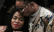 Quavo and his mother
