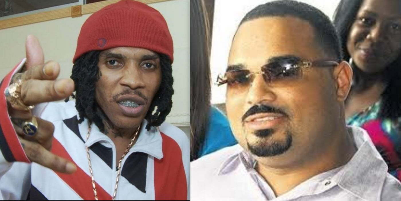 Vybz Kartel and Corey Todd