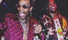Wiz Khalifa and Travis Scott