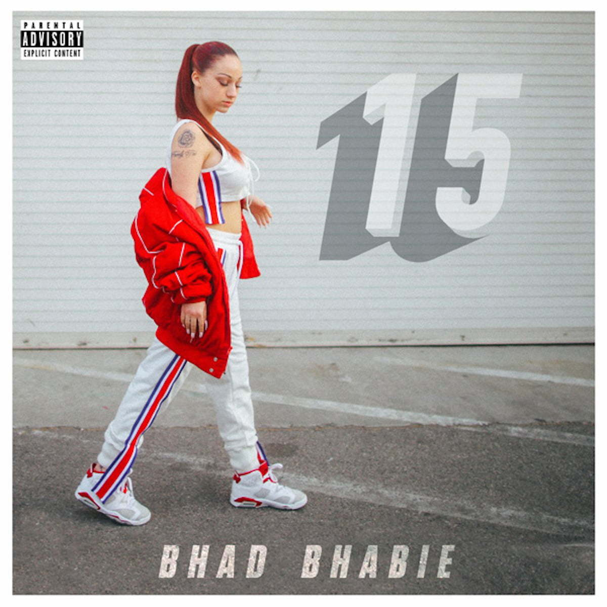 Bhad Bhabie 15 mixtape cover