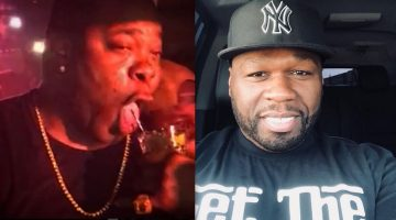 50 Cent Trolling Busta Rhymes For Drinking Henny With A Straw