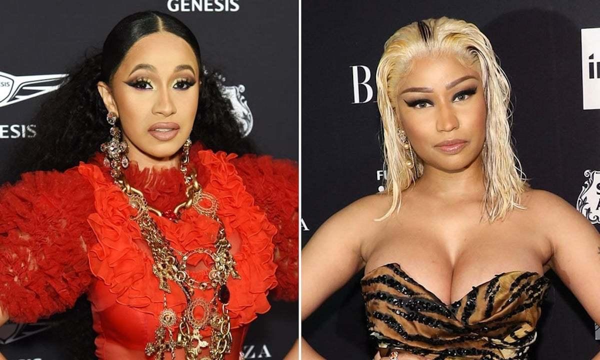 Cardi B and Nicki Minaj beef