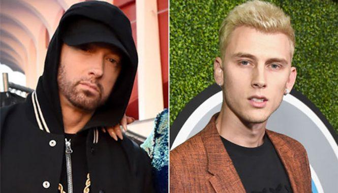 Eminem Machine Gun Kelly MGK