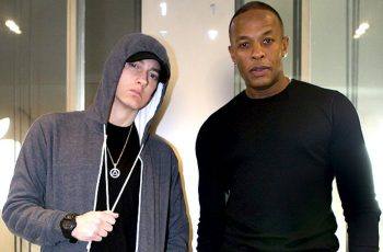 Eminem and Dr Dre pic