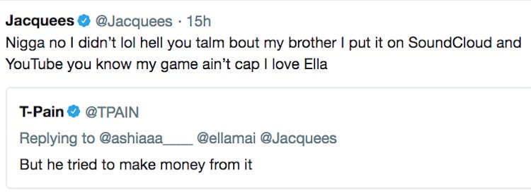 "Jacquees Denies Monetizing Ella Mai's ""Trip"" Remix - Urban Islandz"