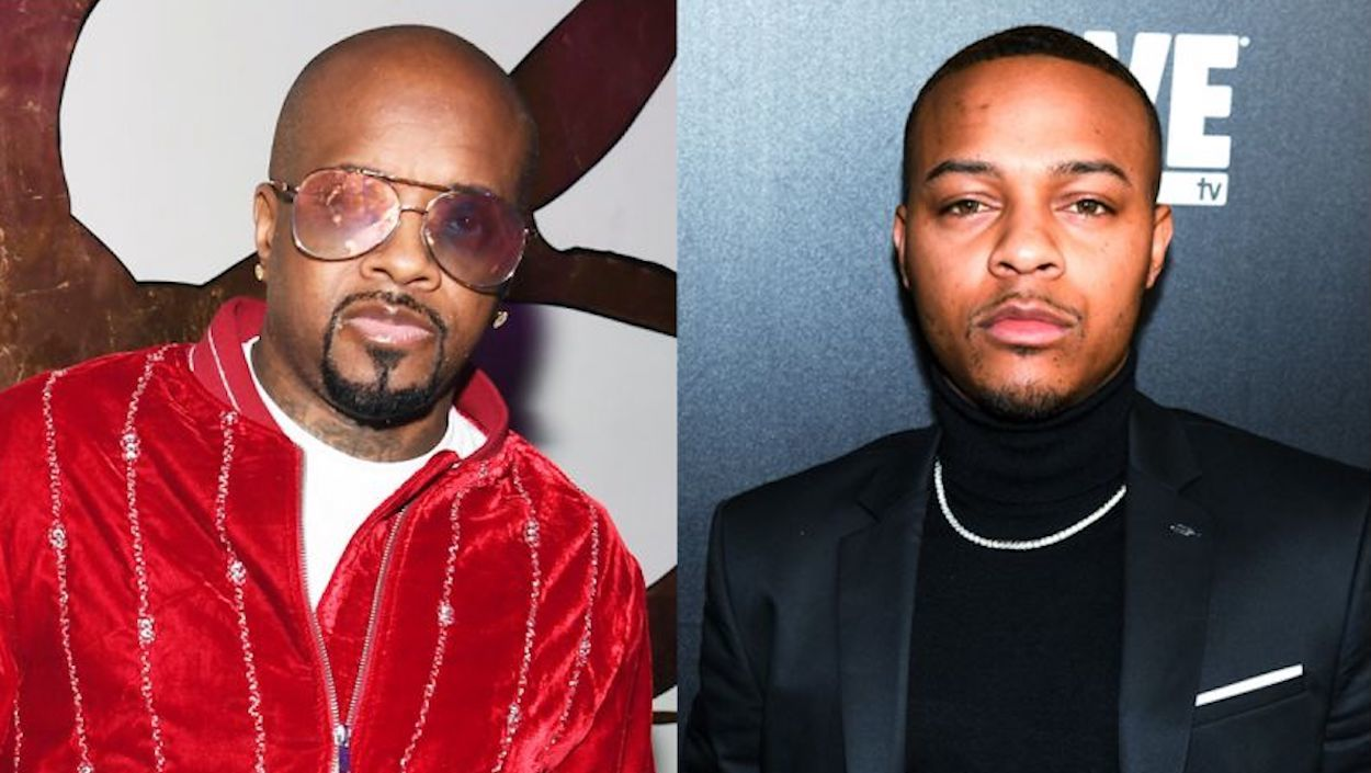 Jermaine Dupri and Bow Wow